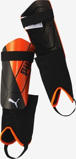 PUMA Schienbeinschoner in orange / schwarz / weiß, Produktansicht