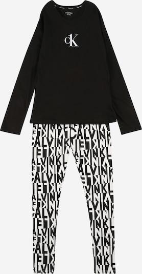 Calvin Klein Underwear Pajamas in Black / White, Item view