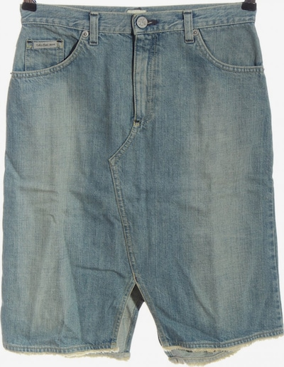 Calvin Klein Jeans Jeansrock in S in blau, Produktansicht