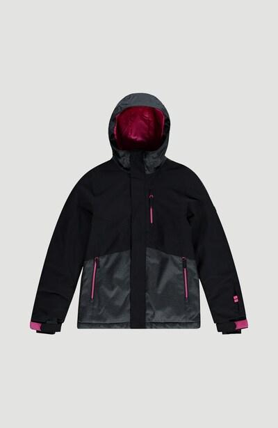O'NEILL Outdoorjacke 'Snow Coral Ski' in grau / pink / schwarz, Produktansicht