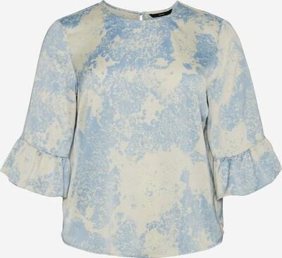 Vero Moda Curve Shirt in hellblau / hellgelb, Produktansicht