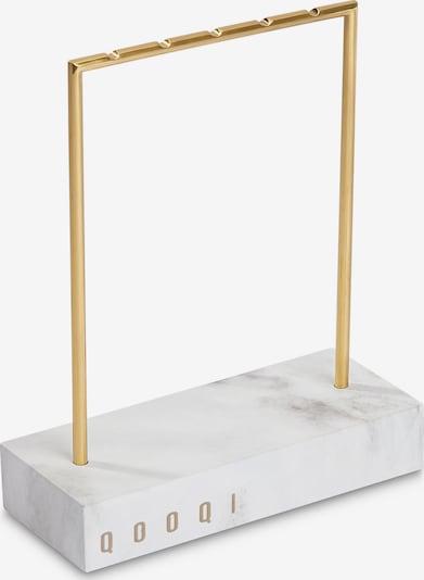 QOOQI Schmuckaufbewahrung in gelb, Produktansicht