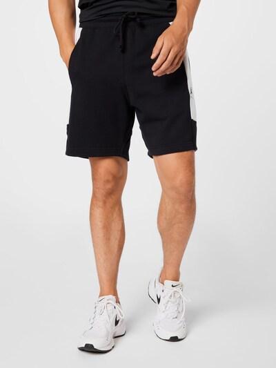 Jordan Kalhoty - černá / offwhite, Model/ka