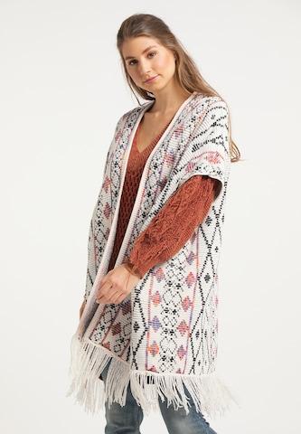 IZIA Knit Cardigan in White