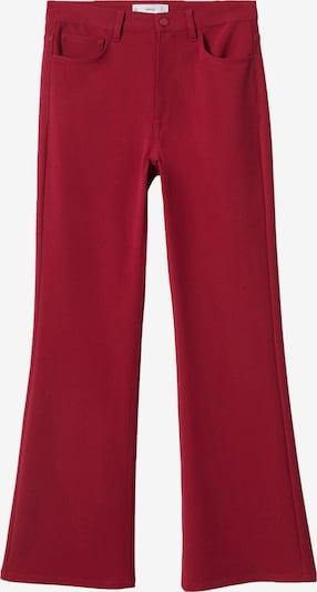 MANGO Broek in de kleur Framboos, Productweergave