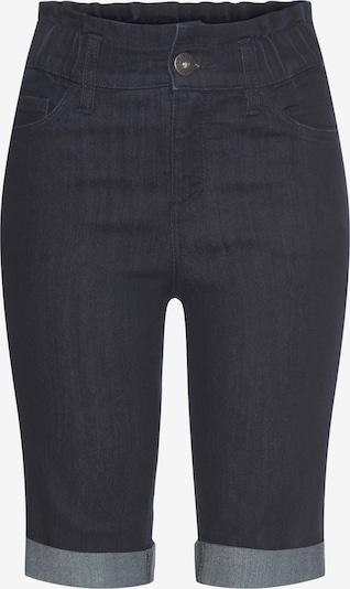 ARIZONA Jeansbermudas in schwarz, Produktansicht