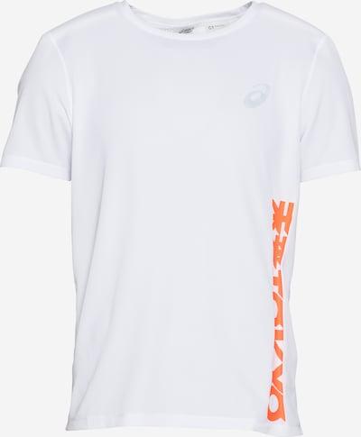 ASICS Koszulka funkcyjna 'FUTURE TOKYO' w kolorze jasnoszary / ciemnopomarańczowy / offwhitem, Podgląd produktu
