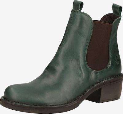 FLY LONDON Chelsea boots in de kleur Groen / Zwart: Vooraanzicht