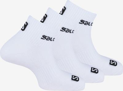 SALOMON Sportsokken in de kleur Zwart / Wit, Productweergave