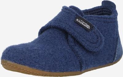 Papuci de casă Living Kitzbühel pe bleumarin, Vizualizare produs