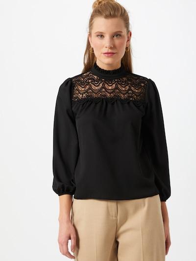 Dorothy Perkins (Petite) Bluse in schwarz, Modelansicht