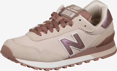 new balance Sneaker in kitt / braun / rosegold / rosa, Produktansicht