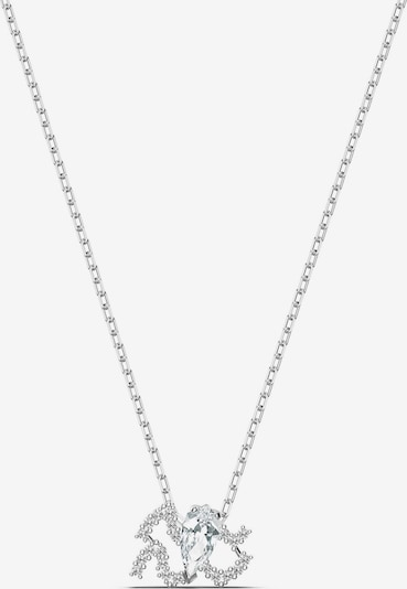 Swarovski Verižica 'Zodiac Aquarius' | srebrna barva, Prikaz izdelka