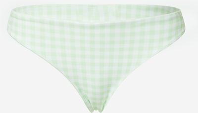 HOLLISTER Bikinové nohavičky - svetlozelená / biela, Produkt