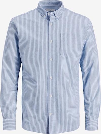 JACK & JONES Hemd in hellblau / weiß, Produktansicht