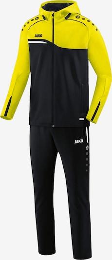 JAKO Trainingsanzug in gelb / schwarz, Produktansicht