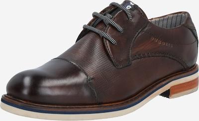 Pantofi cu șireturi bugatti pe maro închis, Vizualizare produs