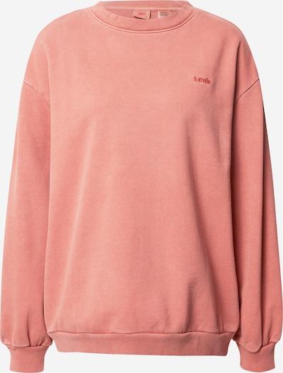 LEVI'S Sweatshirt 'MELROSE SLOUCHY CREW' in hellrot, Produktansicht