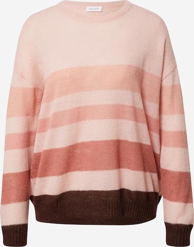 GERRY WEBER Pullover in dunkelbraun / rosa / altrosa, Produktansicht