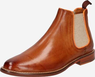 MELVIN & HAMILTON Chelsea Boots 'Selina 48' en mastic / caramel / orange clair, Vue avec produit
