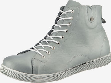 ANDREA CONTI High-Top Sneakers in Grey