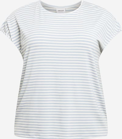 Vero Moda Curve Camiseta 'AVA PLAIN' en azul oscuro / blanco natural, Vista del producto