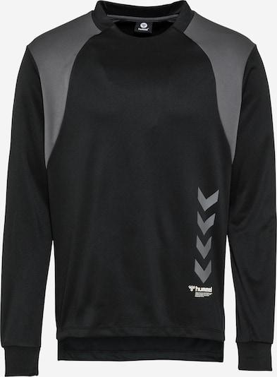 Hummel Camiseta deportiva 'TRUMAN' en gris / negro, Vista del producto