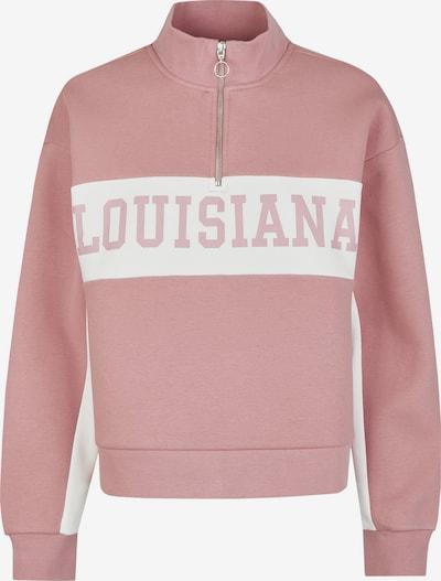 Vestino Sweatshirt in rosa / weiß, Produktansicht