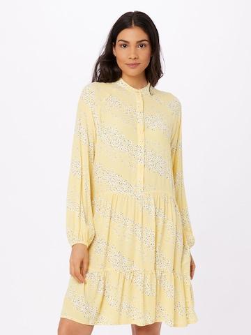 mbym Shirt Dress 'Marranie' in Yellow