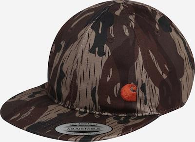 Șapcă 'Mason' Carhartt WIP pe gri taupe / pământiu / verde închis, Vizualizare produs