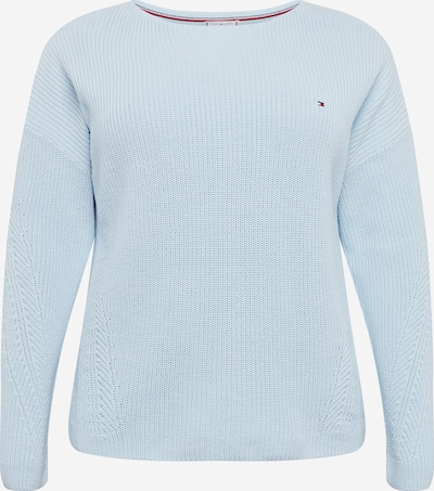 Tommy Hilfiger Curve Pullover 'HAYANA' in hellblau, Produktansicht