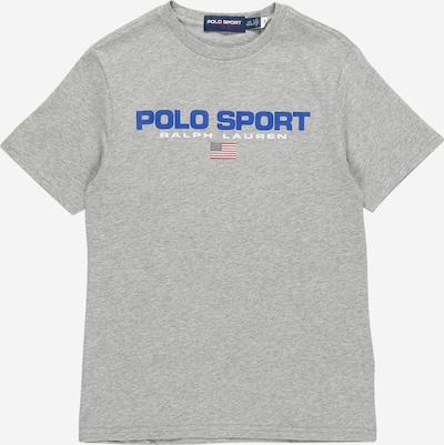 POLO RALPH LAUREN Tričko - kráľovská modrá / sivá melírovaná / červená / biela, Produkt