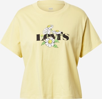 LEVI'S T-Shirt - Žltá