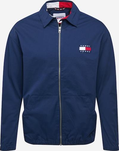 Tommy Jeans Prechodná bunda - námornícka modrá / ohnivo červená / biela, Produkt
