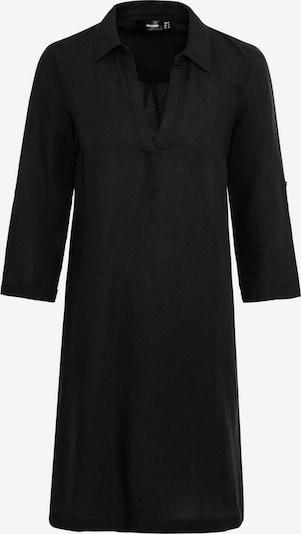 HALLHUBER Leinenkleid in schwarz, Produktansicht