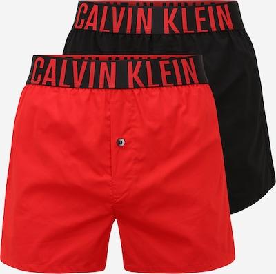 Calvin Klein Underwear Boxershorts in rot / schwarz, Produktansicht