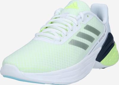 ADIDAS PERFORMANCE Zapatillas de running 'RESPONSE' en amarillo claro / gris plateado / negro / blanco, Vista del producto