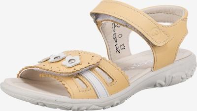 RICOSTA Sandale in gelb / weiß, Produktansicht
