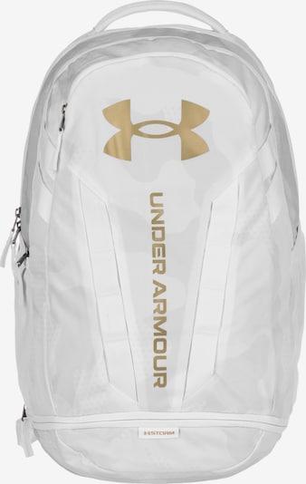 UNDER ARMOUR Sac à dos de sport en or / blanc, Vue avec produit