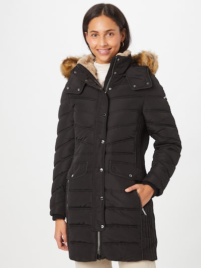 TOM TAILOR Winter Coat in Black, View model