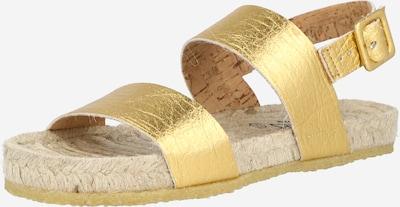 Sandale cu baretă SHABBIES AMSTERDAM pe auriu, Vizualizare produs