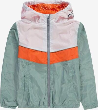 ESPRIT Tussenjas in de kleur Groen / Sinaasappel / Wit, Productweergave