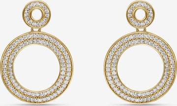 MOSUO JEWELLERYNaušnice 'Aria' - zlatna boja