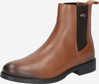 Tommy Jeans Chelsea Boots in Cognac / Black, Item view