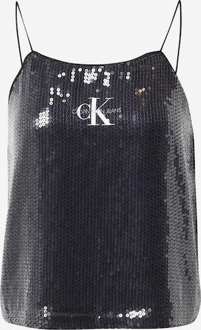 Calvin Klein Jeans Top in Zwart