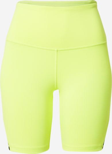 Pantaloni sport REEBOK pe galben, Vizualizare produs