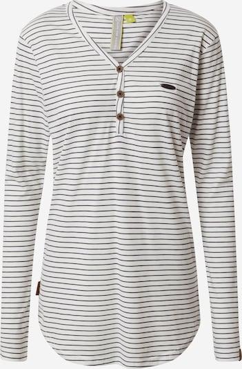 Alife and Kickin T-shirt 'Daisy' en gris foncé / blanc, Vue avec produit