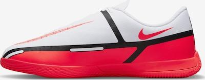 NIKE Fußballschuh in neonrot / schwarz / weiß, Produktansicht