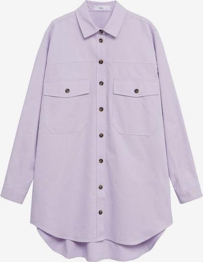 MANGO Bluse in lila, Produktansicht