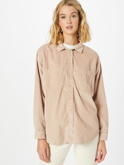 American Eagle Blouse in Powder, View model